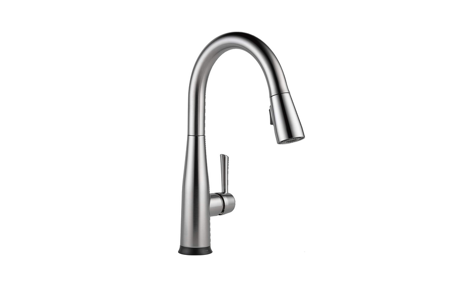 Delta Faucet Essa Single-Handle Touch Kitchen Sink Faucet with Pull Down Sprayer Review