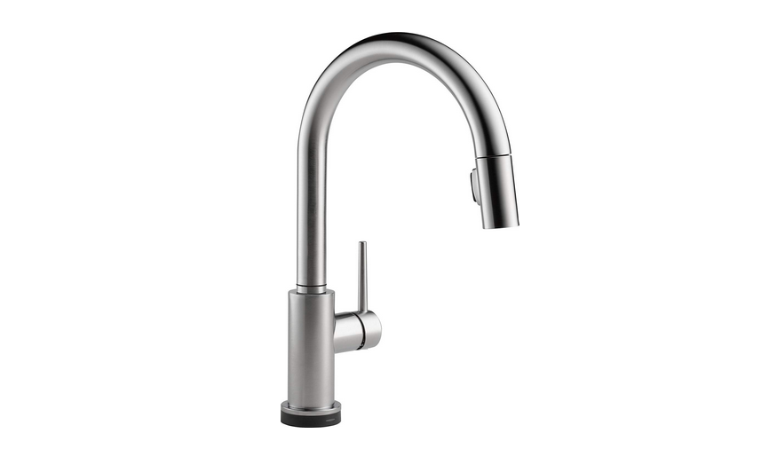 Delta Faucet Trinsic Single-Handle Touch Kitchen Sink Faucet Review
