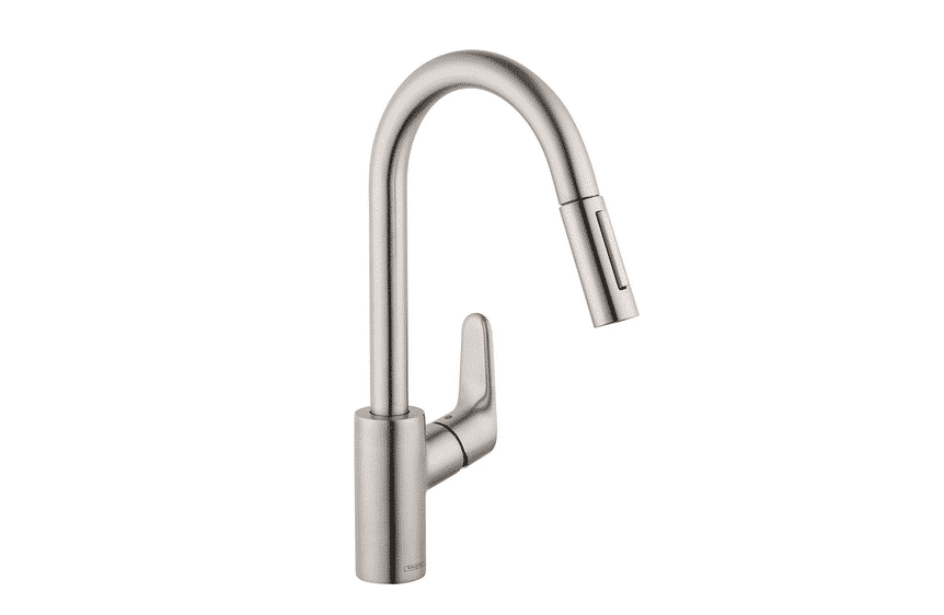 Hansgrohe Focus Premium 1-Handle 16-inch Tall Stainless Steel Kitchen Faucet Review